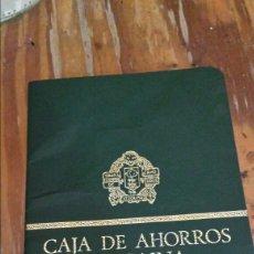 Documentos bancarios: ANTIGUA CARTILLA CAJA DE AHORROS VIZCAÍNA. Lote 127668679