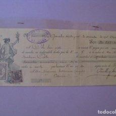 Documentos bancarios: LETRA DE CAMBIO. GRANADA, CAZORLA, JAEN. 1901.. Lote 127766031