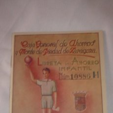 Documentos bancarios: CARTILLA LIBRETA DE AHORROS INFANTIL AÑO 1956. Lote 127831247