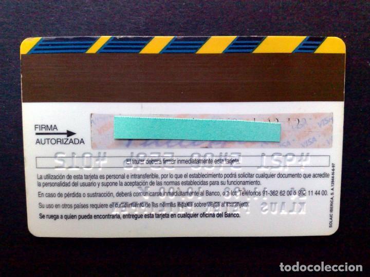 Documentos bancarios: TARJETA BANCARIA,VISA BANCO DE CREDITO BALEAR. - Foto 2 - 130854932