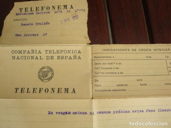 Documentos bancarios: TELEFONEMA - Foto 2 - 132244914