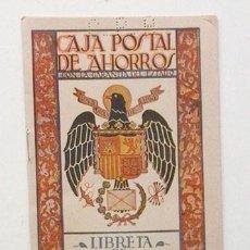 Documentos bancarios: LIBRETA DE NACIDOS DE CAJA POSTAL. AÑO 1944. Lote 133340002