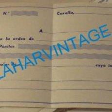 Documentos bancarios: CAZALLA DE LA SIERRA, ANTIGUO PAGARE DE HIJOS DE ANTONIO PEREZ VEGA, ANIS SAN ANTONIO, RARO. Lote 137329358