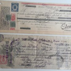 Documentos bancarios: PAGARÉ BANCO DE ESPAÑA , GERONA, MADRID , 1945 Y 1930 , LOTE DE 2. Lote 137397758