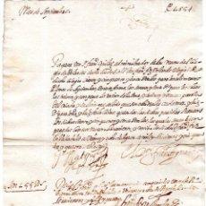 Documentos bancarios: PAGARES. VALLADOLID, 1654. PAGARES DE 155 REALES. . Lote 140372162