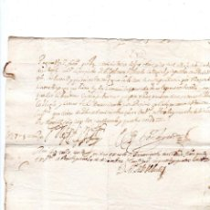 Documentos bancarios: PAGARES. VALLADOLID, 1654. PAGARES DE 1500 MARAVEDIS. . Lote 140376194