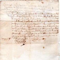 Documentos bancarios: PAGARES. VALLADOLID, 1655. PAGARES DE 16 REALES. . Lote 140376674