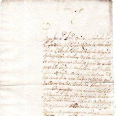 Documentos bancarios: PAGARES. VALLADOLID, 1654. PAGARES DE 200 REALES. . Lote 140376834