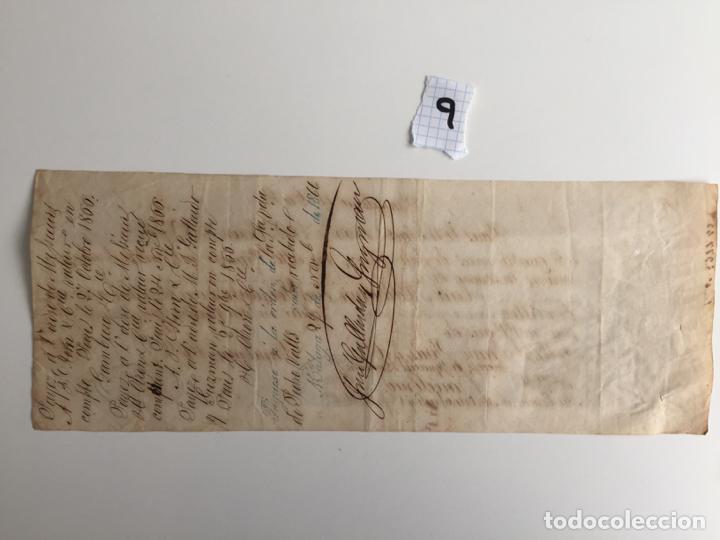 JOSE GALLARDO Y GUZMAN , MÁLAGA , 1866 , VIUDA DE VALLS , PAGARÉ (Coleccionismo - Documentos - Documentos Bancarios)