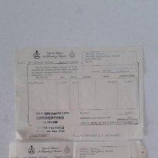 Documentos bancarios: DOCUMENTOS BANCARIOS ELDA - ALICANTE. Lote 145386502