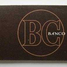 Documentos bancarios: TALONARIO DE CHEQUES DEL BANCO CENTRAL. Lote 147581290