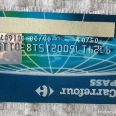 Documentos bancarios: TARJETA CARREFOUR CADUCIDAD 2003. Lote 149155098