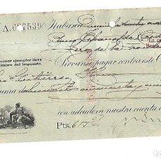 Documentos bancarios: CHEQUE. N.GELATS & CA. 1929. HABANA, CUBA. VER. Lote 149305690