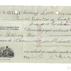 Documentos bancarios: CHEQUE. N.GELATS & CA. 1930. HABANA, CUBA. VER. Lote 149306406