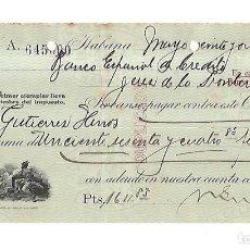 Documentos bancarios: CHEQUE. N.GELATS & CA. 1930. HABANA, CUBA. VER. Lote 149306786