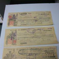 Documentos bancarios: ALMERÍA LETRAS DE CAMBIO AÑO 1935 LOTE DE 3 UNID.. Lote 151126712