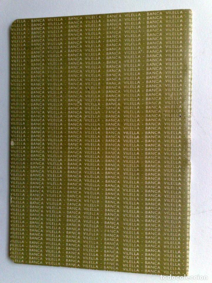 Documentos bancarios: LIBRETA DE AHORRO,BANCA DE VILELLA (COMPL.) EXPEDIDO 1966 EN REUS - Foto 4 - 151805498