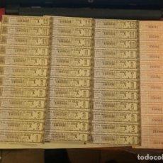 Documentos bancarios: DEUDA AMORTIZABLE SERIE A Y B EMISIÓN 1942. Lote 156249918