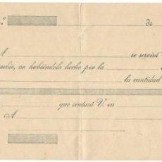 Documentos bancarios: LETRA DE CAMBIO SIN RELLENAR / CLASE 12ª - 20 CÉNTIMOS - SOBRECARGA: REPÚBLICA ESPAÑOLA. Lote 156308938