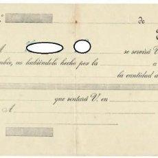 Documentos bancarios: LETRA DE CAMBIO / CLASE 12ª - 20 CÉNTIMOS. Lote 156333418