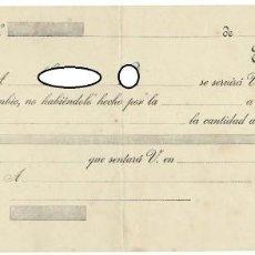 Documentos bancarios: LETRA DE CAMBIO / CLASE 12ª - 20 CÉNTIMOS. Lote 156333530