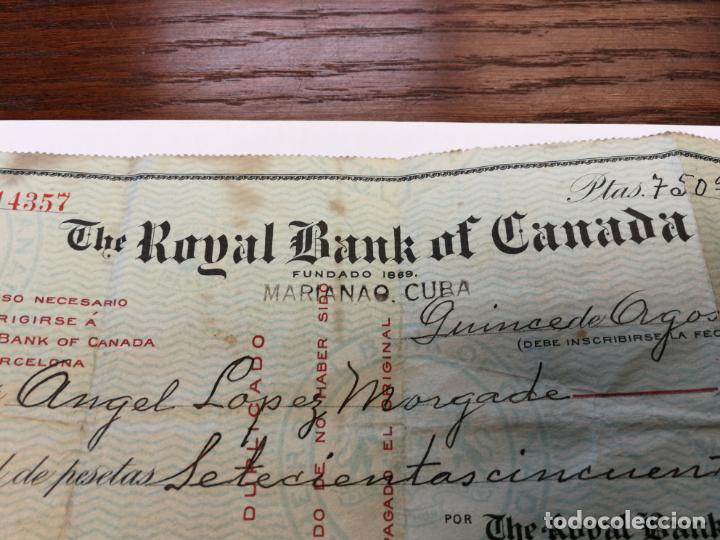 Canada cheque bank of royal Transit Number