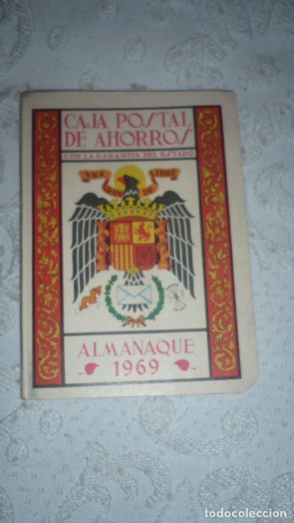ALMANAQUE CAJA POSTAL DE AHORROS AÑO 1969 (Coleccionismo - Documentos - Documentos Bancarios)