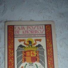 Documentos bancarios: ALMANAQUE CAJA POSTAL DE AHORROS AÑO 1969. Lote 157687954