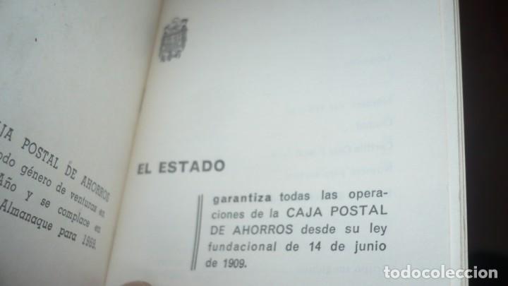Documentos bancarios: Almanaque Caja Postal De ahorros año 1969 - Foto 3 - 157687954