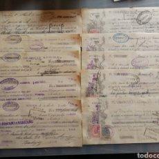 Documentos bancarios: LOTE DE LETRA DE CAMBIO. DISTINTAS LOCALIDADES. 1930. Lote 158907496