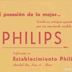 Documentos bancarios: PHILIPOS ARRAVAL STA. ANA 4 REUS TARRAGONA . Lote 161160486