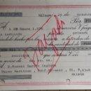 Documentos bancarios: DOCUMENTO BANCO DE BILBAO 1975. Lote 162906666