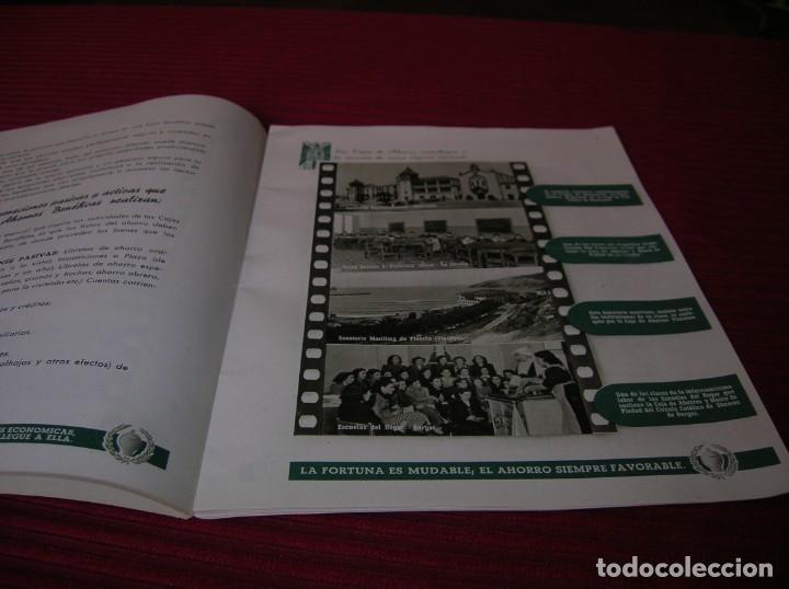 Documentos bancarios: Muy interesante folleto.Primera Exposición Nacional del Ahorro.Madrid,año 1951 - Foto 3 - 165670486