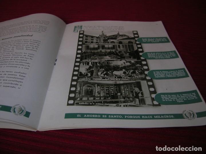 Documentos bancarios: Muy interesante folleto.Primera Exposición Nacional del Ahorro.Madrid,año 1951 - Foto 4 - 165670486