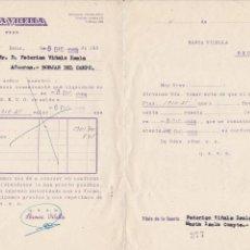 Documentos bancarios: BANCA VILELLA DE REUS 1958. Lote 171615415