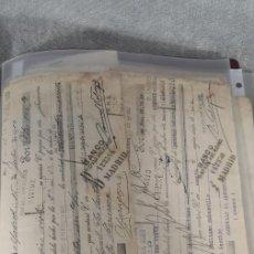 Documentos bancarios: LOTE DE 24 LETRAS DE CAMBIO . Lote 177278699