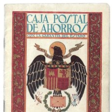 Documentos bancarios: ANG- LIBRETA DE LA CAJA POSTAL DE AHORROS DE VILLANUEVA DE LOS INFANTE DEL 22 - 5 - 1.956. Lote 177712188