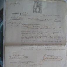 Documentos bancarios: PAGARE DEL BANCO DE ESPAÑA , MANUSCRITO . SEVILLA , 1870 . SIGLO XIX. Lote 177759855
