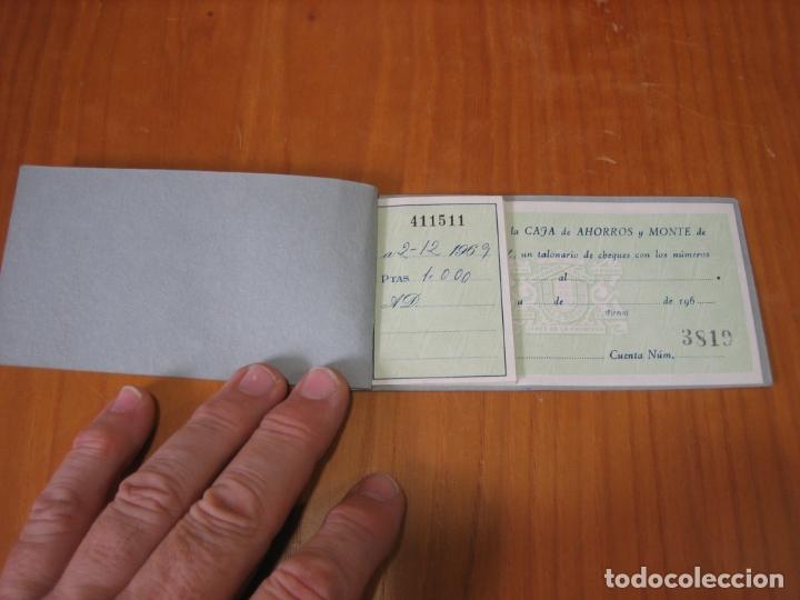 Documentos bancarios: Talonario bancario caja de ahorros de Jerez - Foto 2 - 178202368