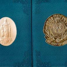 Documentos bancarios: CARPETA CONMEMORATIVA 50 ANIVERSARIO CAJA DE PENSIONES 1954. Lote 178844226