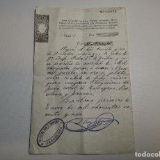 Documentos bancarios: PAGARE ENDOSABLE BARCELONA 1891 MANUSCRITO--9000 PTAS. Lote 178858018