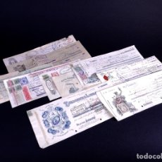 Documentos bancarios: LETRAS DE CAMBIO. LOTE 10 UDS 1891-1942. Lote 179148257