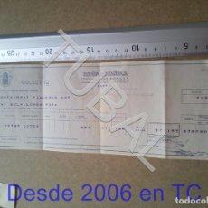 Documentos bancarios: TUBAL UNION ESPAÑOLA SEGUROS 1964 ENVIO 70 CENT 2019 B05. Lote 179242998