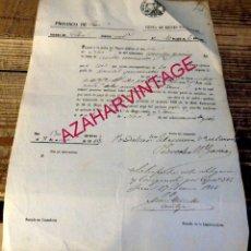 Documentos bancarios: JAEN, 1856, PAGARE VENTA DE BIENES NACIONALES DEL CLERO. Lote 180129593