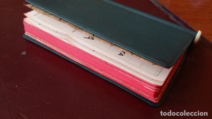 Documentos bancarios: ANTIGUA AGENDA 1962 BANCO VIZCAYA BILBAO DATOS ÚTILES CON LAPICERO Y COMPLETA Y SIN USAR - Foto 7 - 180216365
