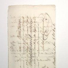 Documentos bancarios: BARCELONA 1846 * LETRA DE CAMBIO SEMI MANUSCRITA * BARCELONA MADRID . Lote 182778487