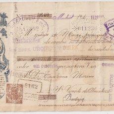 Documentos bancarios: MADRID 1916 PAGARÉ DE LA PAPELERA ESPAÑOLA DE BILBAO.. Lote 182876052