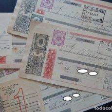 Documentos bancarios: 6 LETRAS DE CAMBIO / AÑOS 1952 Y 1953 - CONFECCIONES VICTORIA (BARCELONA). Lote 183067911