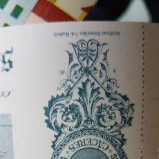 Documentos bancarios: PAGARE BANCA SUCESORES DE CLEMENTE SANCHEZ CACERES. Lote 183596753