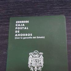 Documentos bancarios: ANTIGUA LIBRETA DE AHORROS CAJA POSTAL. Lote 189681348